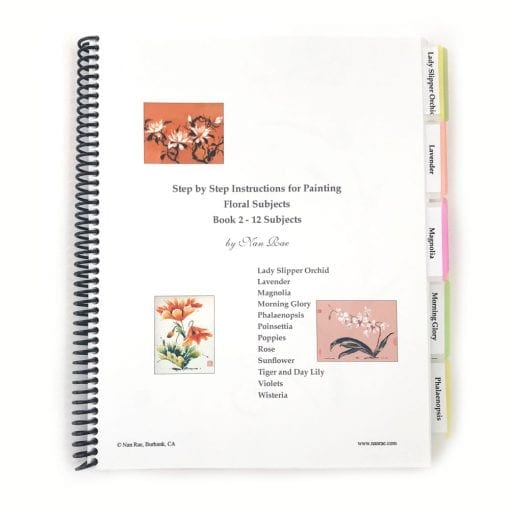 Floral Notebook II by Nan Rae