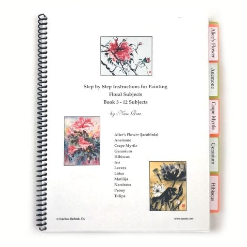 Floral Notebook III by Nan Rae