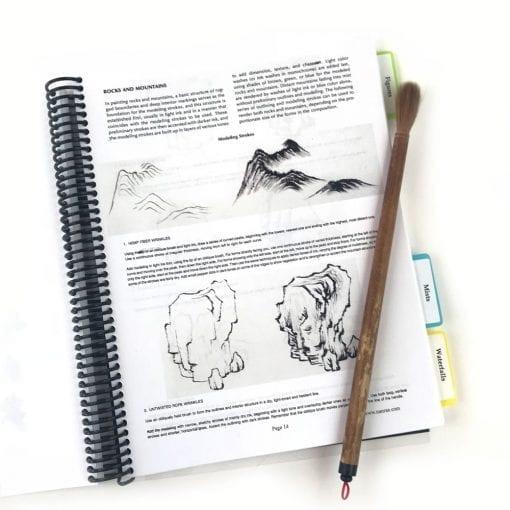 Inside Landscape Notebook by Nan Rae