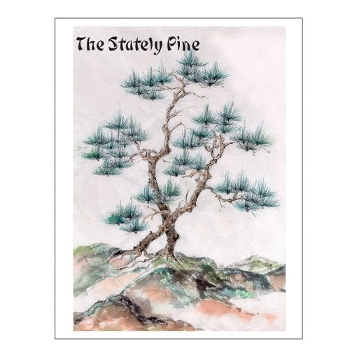 Stately Pine Class Lesson by Nan Rae