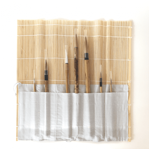 Bamboo Brush Wrap