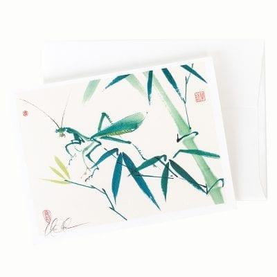 13-03 Mantis Card © Nan Rae