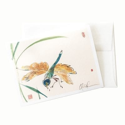 13-04 Dragonfly Card © Nan Rae