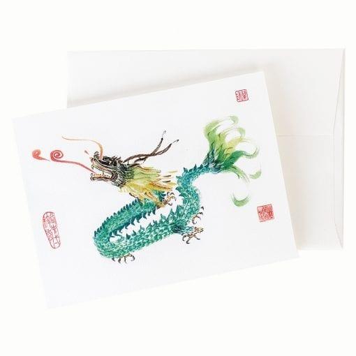 13-12 Dragon Fire Card © Nan Rae
