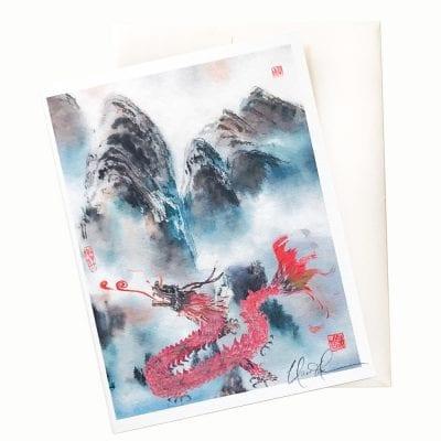 13-16 Dragon Mist Card © Nan Rae
