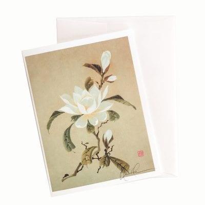 13-43 Elegant Lady Card © Nan Rae
