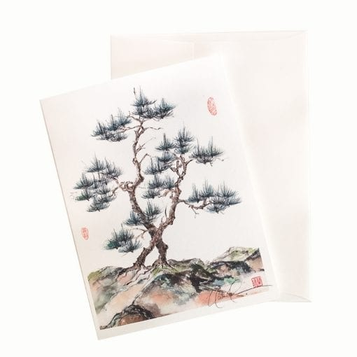 13-52 Stately Pine Card © Nan Rae