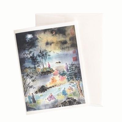 13-55 Poet's of the Moonlight Card © Nan Rae