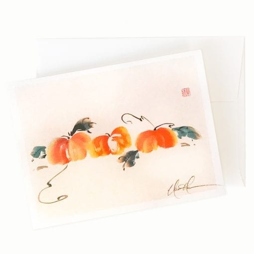 The Pumpkin Patch Card by Nan Rae