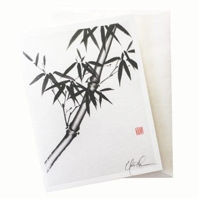 14-43 Chinese Bamboo Card © Nan Rae