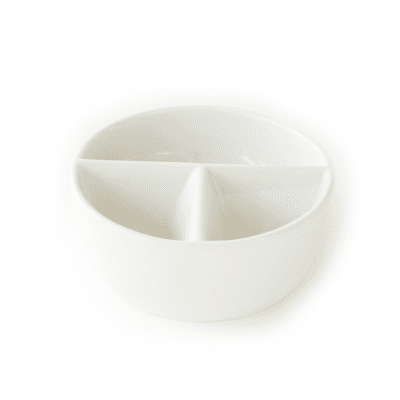 Ceramic Divided Water Bowl