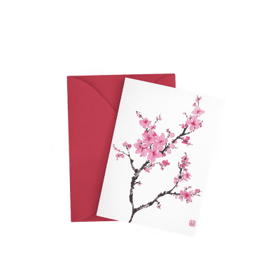Cherry Blossom Gift Enclosure © Nan Rae