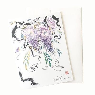 15-42 Emperor's Garden II Card © Nan Rae