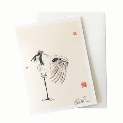 15-52 Touche Card © Nan Rae