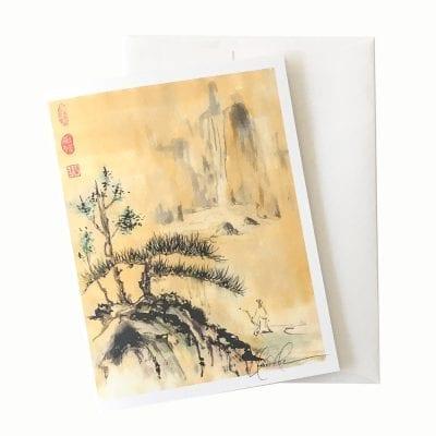 15-62 Distant Journey Card © Nan Rae