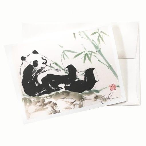 18-28 Panda Play Card © Nan Rae