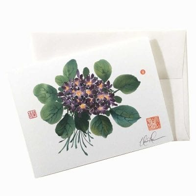 18-42 Forget Me Not Card by Nan Rae