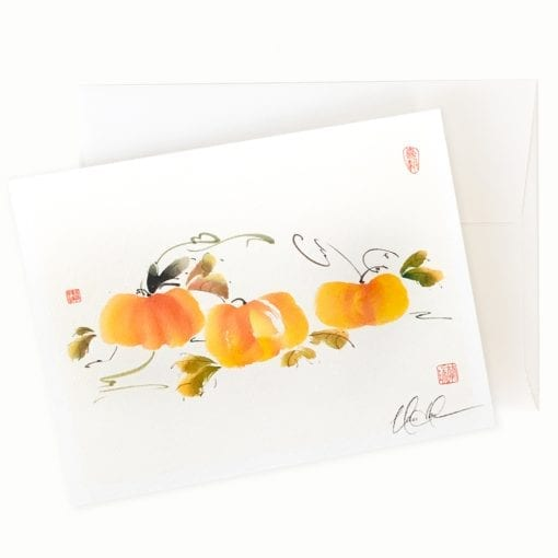 Harvest Time Card by Nan Rae