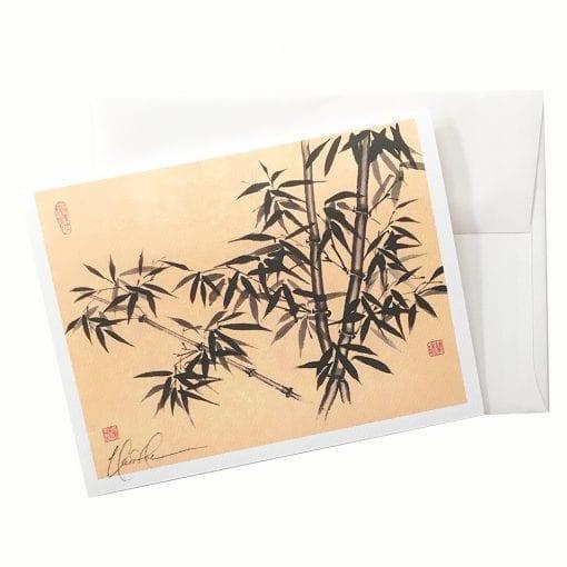 19-18 Elegant Bamboo Card ©Nan Rae
