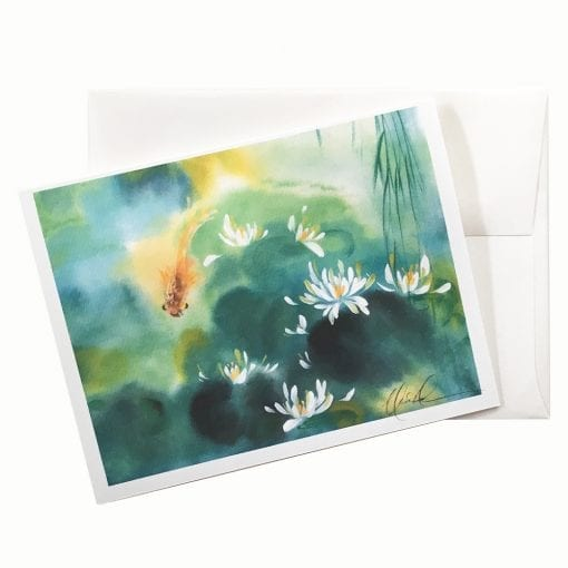 20-49 Blue Lagoon I Card © Nan Rae