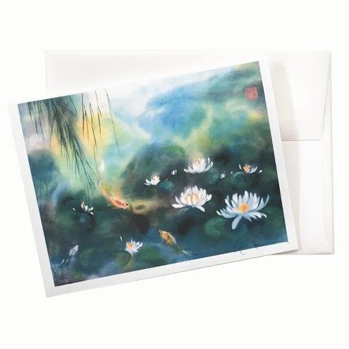 20-50 Blue Lagoon II Card © Nan Rae
