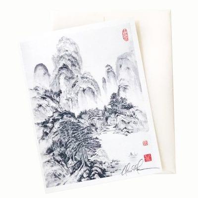 21-35 Landscape after Wang Hui © Nan Rae
