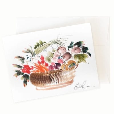 Bountiful II Card by Nan Rae