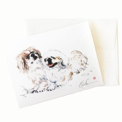 22-05 Two Too Cute Card © Nan Rae