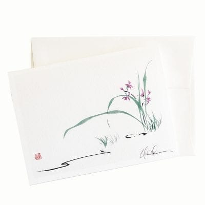 22-61 Quietly Card © Nan Rae