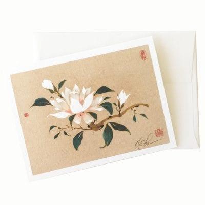 23-20 Magnolia II Card © Nan Rae