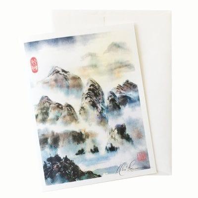 24-23 Harmony of Heaven and Earth Card © Nan Rae