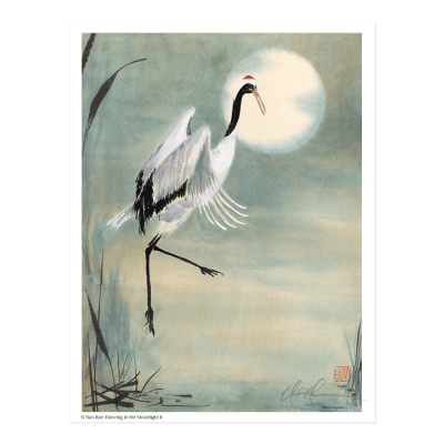 L1425 Dancing in the Moonlight II Print © Nan Rae