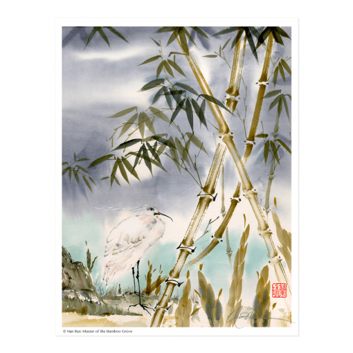 L1462 Master of the Bamboo Grove Print © Nan Rae