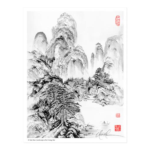 L2135 Landscape after Wang Hui © Nan Rae