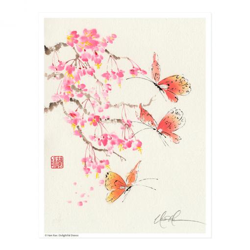 L2631 Delightful Dance Print © Nan Rae