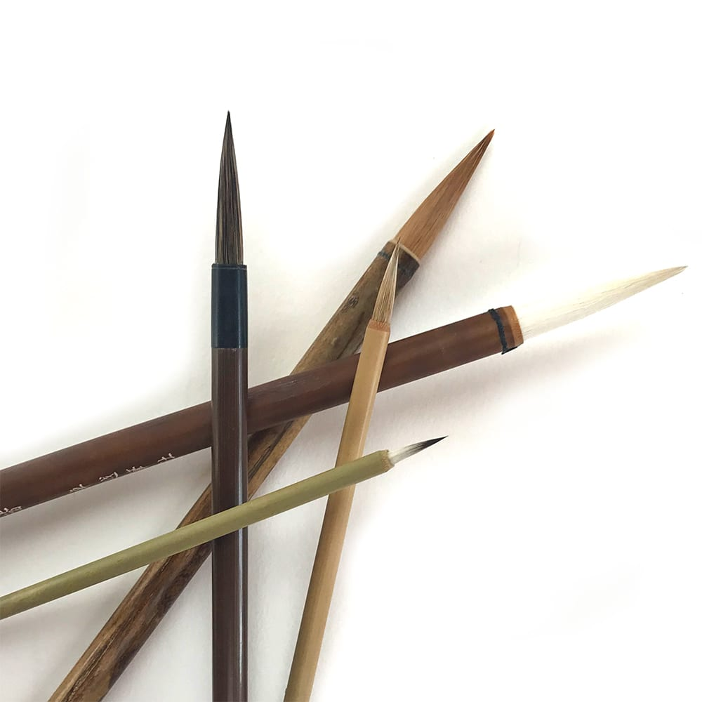 Brushes for Brush Painting