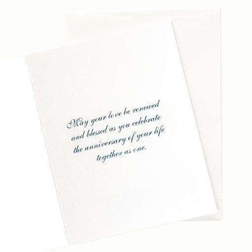 Anniversary Card Inside Message