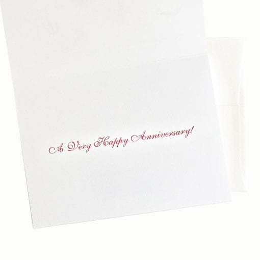 Anniversary Card Message Inside