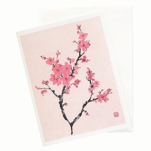 22-25Gw A Branch of Grace Get Well Card by Nan Rae