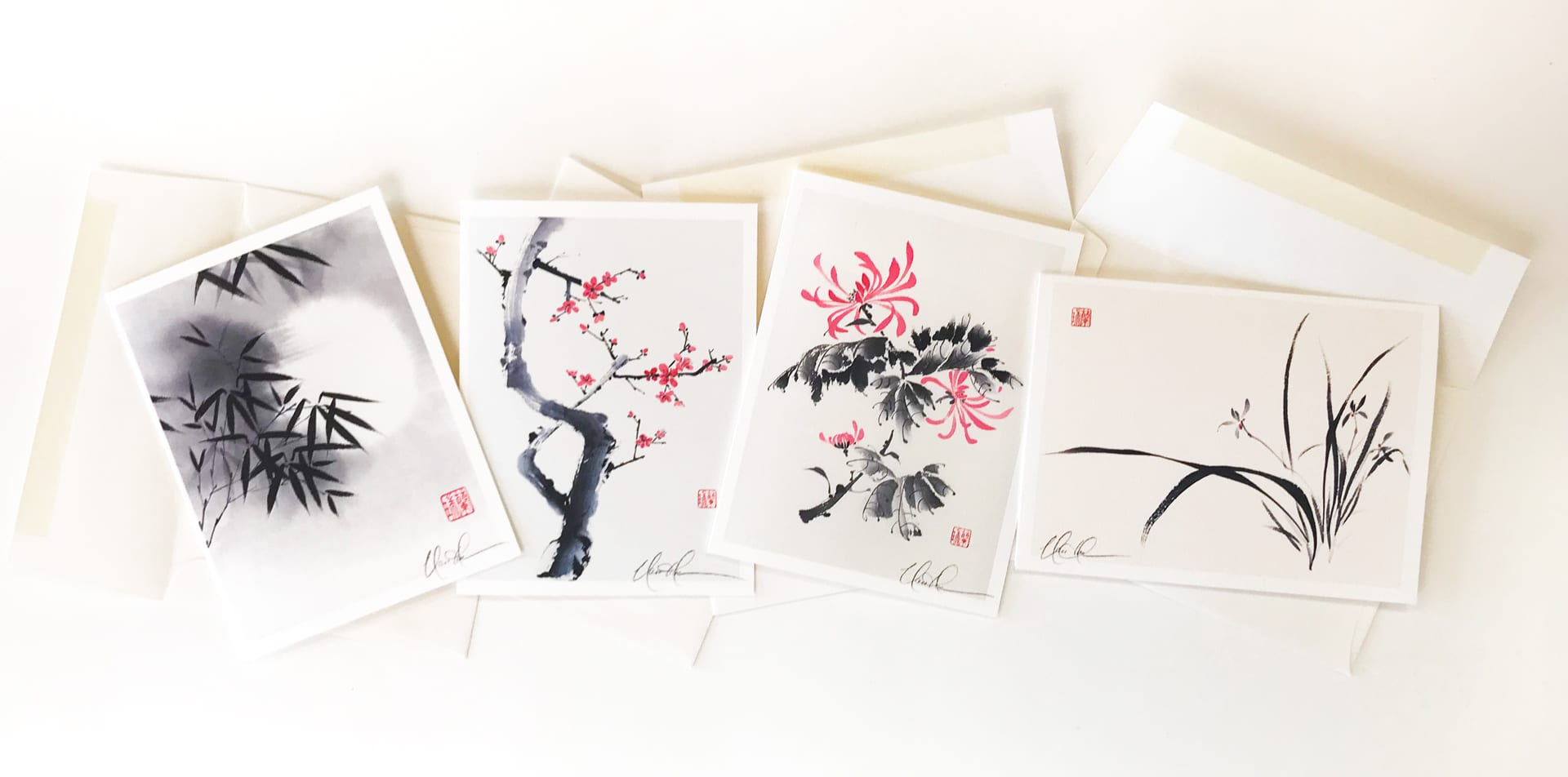 Four Gentlemen Cards Nan Rae Studio