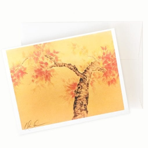 Golden Moment Card by Nan Rae