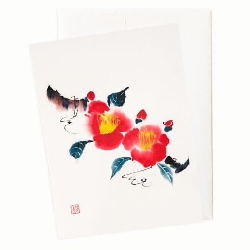 24-15x Joyful Christmas Card by Nan Rae